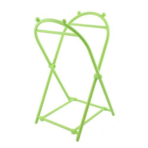 DealMux Plastic Family Kitchen Garbage Waste Rubbish Trash Bag Frame Holder Green (Holder Waste Bag)