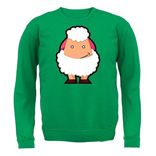 Cute Sheep - Unisex Pullover/Sweatshirt - 8 Farben Grün