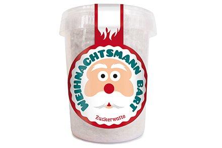 Liebeskummerpillen - Weihnachtsmann Bart aus Zuckerwatte (30 g)
