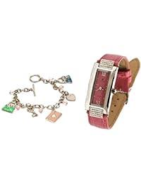 Pierre Cardin PCX4131LSN - Reloj para mujeres, correa de cuero