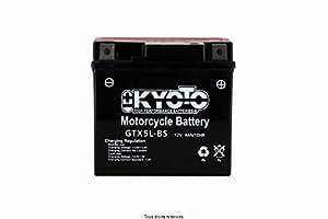 Batterie Moto KYOTO Ytx5l-bs - Ss Entr. Acide L 114mm W 71mm H 106mm 12v 4ah Acide 0,27l