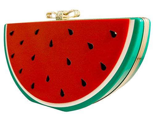 Collectif Abendtasche WATERMELON CLUTCH BAG Multicoloured