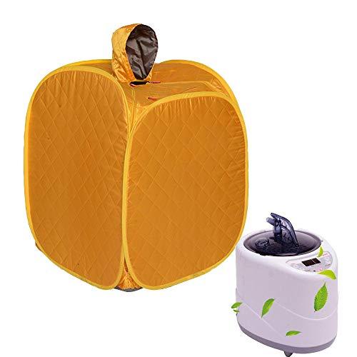 YXLONG Infrarot Sauna Tragbare Personal Spa Trockene Sauna Mini Infrarotkabine Entgiftung Abnehmen,Yellow -