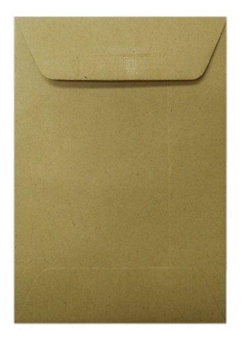 (Papier-Umschläge (10 Stück) - 98x67mm - braun)