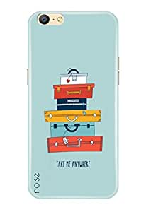 Noise Oppo A57 Cover, Printed Cover, Oppo A57 Back Cover / Graffiti & Illustrations / Take Me Anywhere - (GD-862)