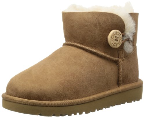 ugg-australia-mini-bailey-button-juniors-sheepskin-chestnut-botas-chestnut-eu-31-us-1