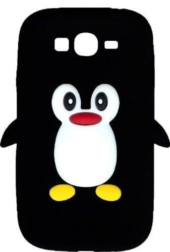 new product 12ca5 af3ed SKS Distribution® Nero pinguino Custodia in silicone / Cover / Case ...