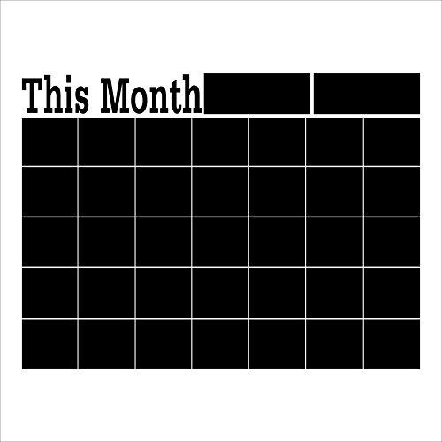 winhappyhome-este-mes-cuadrado-negro-pizarra-adhesivos-de-pared-para-ministerio-del-interior-de-la-d