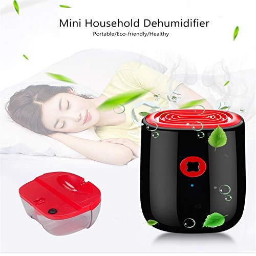 BABIFIS Deumidificatore Elettrico da 800ml Mini Deumidificatore Domestico Dispositivo di Pulizia Portatile Essiccatore di umidità
