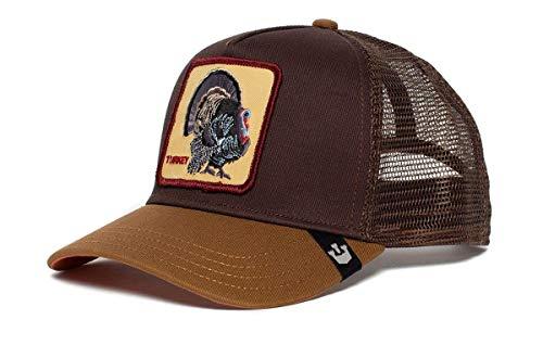 Goorin Bros. Trucker Cap Turkey Braun, Size:ONE Size Fun Trucker Hut