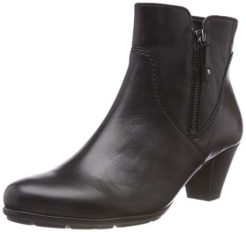Gabor Shoes Damen Basic Stiefeletten, Schwarz 27, 40 EU