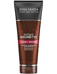 JOHN FRIEDA Brilliant Brunette Shampooing Brun Plus Profond 250 ml