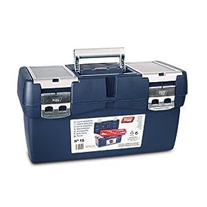 Tayg Caja herramientas plástico aluminio n. 500, 500 x 295 x 270 mm