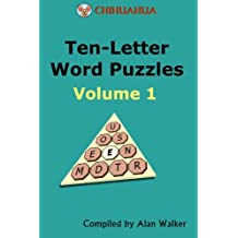 Chihuahua Ten-Letter Word Puzzles Volume 1