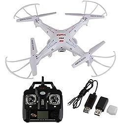 Syma X5C Exploradores 2.4G 4 Canales 6-Axis Gyro RC Quadcopter HD Cámara FPV RTF
