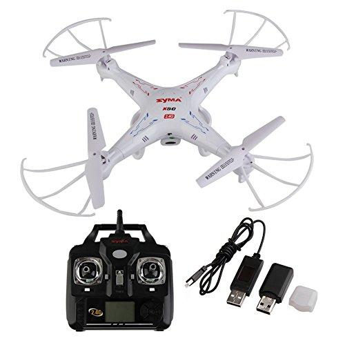 Syma X5C Explorers 2.4G 4 Channels 6-Axis Gyro RC Quadcopter HD Camera FPV RTF