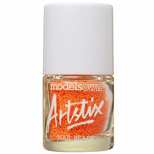 Models Own artstix Nail Perlen Neon Orange
