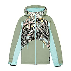 O'Neill Mädchen PG Allure Jackets Snow, Red AOP W