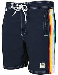 Tokyo Laundry Boys Alroy Designer Mesh Lined Swimming Shorts