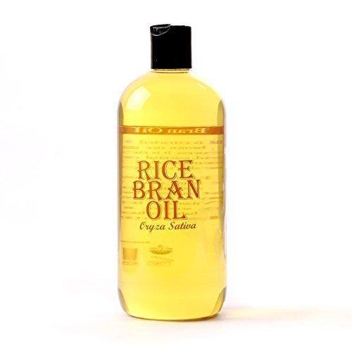 Aromatherapie Feuchtigkeitsspendende Vitamine (Mystic Moments Reiskleie Trägeröl - 500 ml - 100% rein)