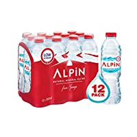 Alpin Shrink Low Sodium Mineral Water - 500 ml (Pack of 12)