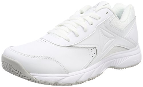 Reebok Work N Cushion 3.0, Chaussures de Marche Nordique Homme, Blanc (White/Steel), 42 EU