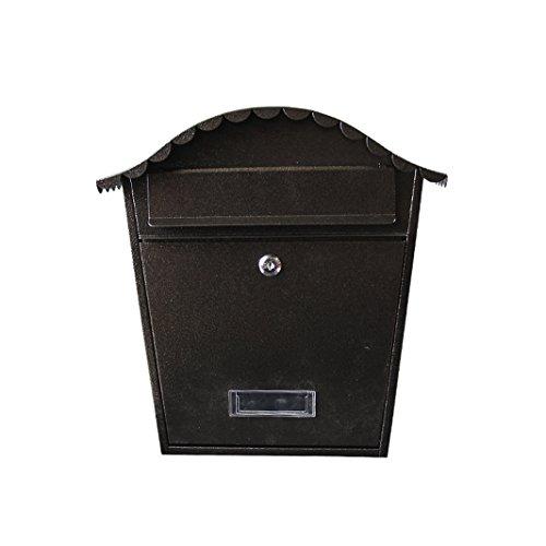 QAR Villa Mailbox Outdoor Mailbox Europäische Wandbehang Outdoor Wasserdichte Zeitungsbox,...