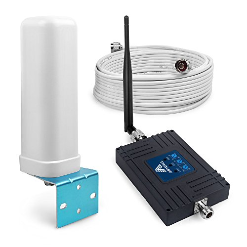 ANYCALL Tri-band Verstärker Signal LTE 800 (Band 20)/EGMS 900 (Band 8)/WCDMA 2100 MHz 70dB Repeater Zell Booster Repeater und omnidirektional Innen Antenne