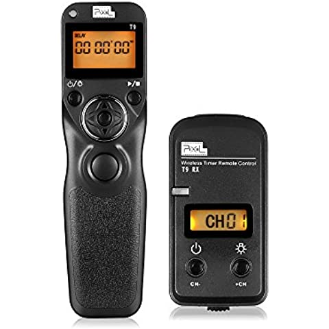 Cajuela Remoto, PIXEL T9 / N3 LCD Multifunción Disparador Remoto Desbloqueo Del Ddaptador De Controlador De Temporizador Para Canon 6D