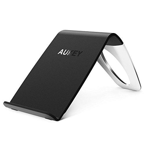 AUKEY Cargador Wireless de 3 Bobinas Certificado de Qi para Nexus 5 / 6 / 7, Nokia Lumia 920 y otros Dispositivos Habitados Qi