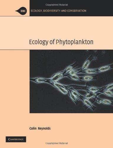 The Ecology of Phytoplankton Paperback (Ecology, Biodiversity and Conservation) por Reynolds