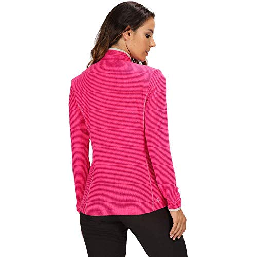 41HAvx%2BLEqL. SS500  - Regatta Womens Willett Full Zip Lightweight Stretch Grid Fleece