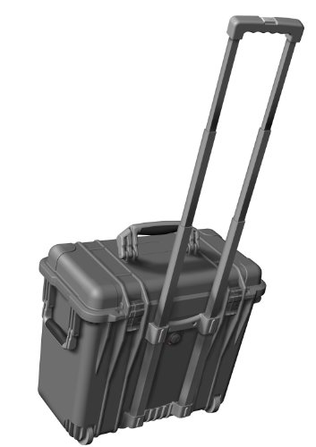 Peli Transportkoffer 1445, Einteilungssystem mit Deckeleinteiler 1440 Case Divid Black