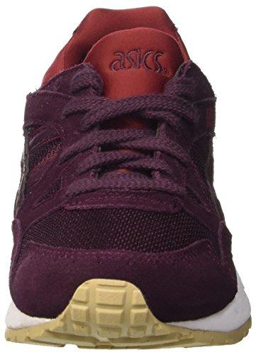 Asics Unisex-Erwachsene Gel-Lyte V Sneakers Rot (rioja Red/rioja Red)