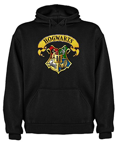 Sudadera de Hogwarts niños 7-8 años en Negro