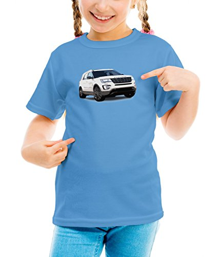 billion-group-explorer-american-muscle-fast-car-club-girls-classic-crew-neck-t-shirt-azul-medium