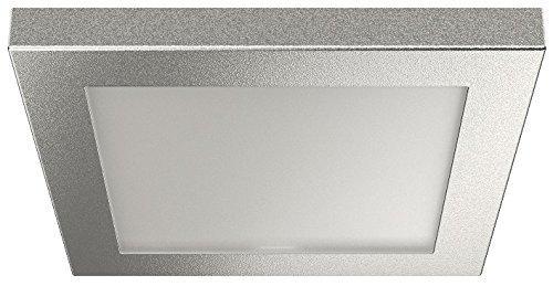 möbel-aufbauleuchte Cuadrados plata LED Lámpara Foco 2051 Muebles de la Luz Blanco...