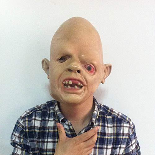 baoqsure Halloween Erwachsene Maske Zombie Maske Latex Blutig Beängstigend Extrem Ekelhaft Full Face Maske Kostüm Party Cosplay Prop