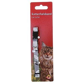 Beeztees Camouflage Collier pour Chat Gris 21-32 cm x 10 mm