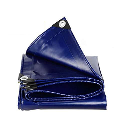 Dall bâche Imperméable Bâche Feuille De Sol des Couvertures Double Face Imperméable (Couleur : Bleu, Taille : 4 * 8m)
