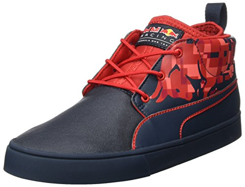 Puma Rbr Desert Boot Bulls, Sneakers Basses Mixte Adulte Bleu (Total Eclipse-chinese Red)