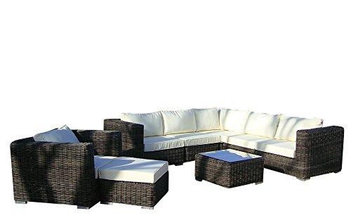 Baidani Rattan Garten Lounge Garnitur Dreamline Günstig