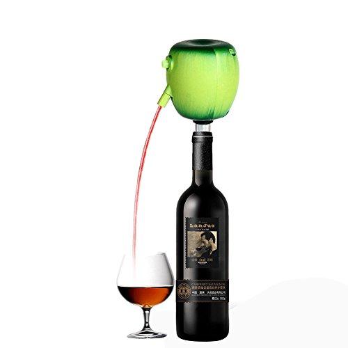 Dispensador de vino tinto eléctrico Aireador Bombas de decantador Batería Operado Champagne Spirit Difusor Sellador de vino Bebida de cerveza Herramienta Botella Pourer Caño - Material de grado alimenticio, Mantenga el vino fresco y sabroso