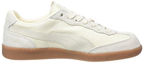 Puma Liga Leather, Scarpe da Ginnastica Basse Unisex-Adulto Bianco (Whisper White-whisper White)