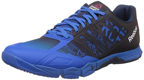 Reebok R Cross Training Speed TR, Zapatillas de Deporte Hombre, Azul / Negro (Blue Sport/Collegiate Navy/Black), 44 EU
