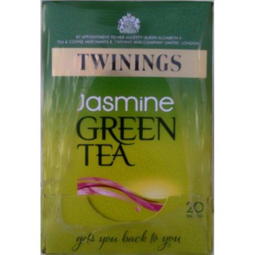Twinings Jasmine Green Tea - 4 x 20 Bustine di tè