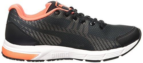 Puma Sequence V2 Wn, Scarpe da corsa Donna Nero (Schwarz (black-fluo peach-white 02))