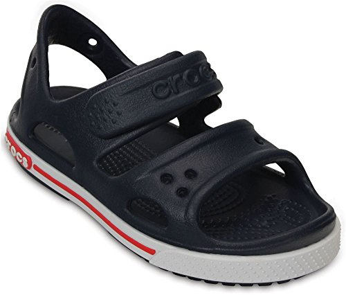 crocs Kinderschuhe - Crocband II Sandal PS Navy White, Größe:19-20
