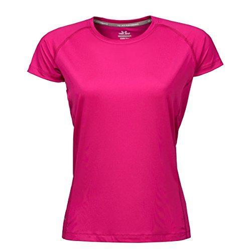 Tee Jays - T-shirt de sport - Femme Fuchsia vif