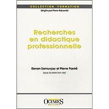 Recherches en didactique professionnelle